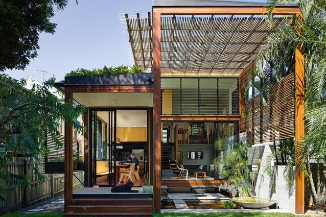 Garden House by Caroline Stalker and Bruce Carrick.