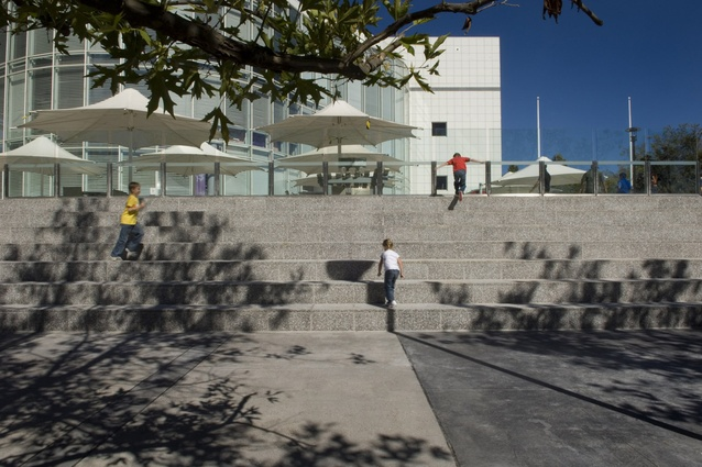 New terrace seating creates 'outdoor classroom' for Questacon.