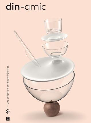Din-Amic dinnerware for IPI, 2012.