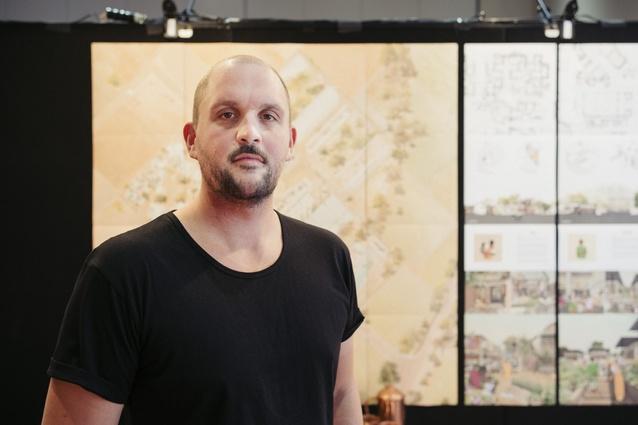 L. Mason Rattray of Unitec: winner of the 2016 NZIA Central Innovation Student Design Awards.