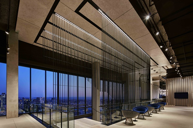 Corrs Chambers Westgarth lighting by Electrolight.