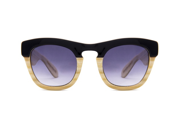 Yager Black/Bone sunglasses | 