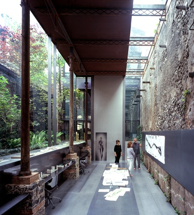 Barberí Laboratory in Olot, Spain, by RCR Arquitectes (2008).