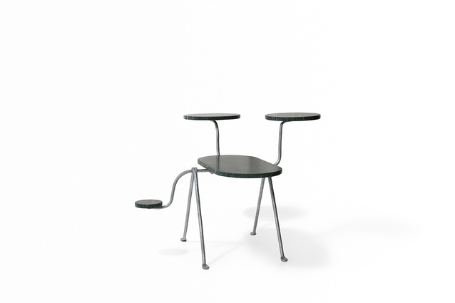 The Officina chair reinvented by Henry Wilson for Chairity Project 2016.