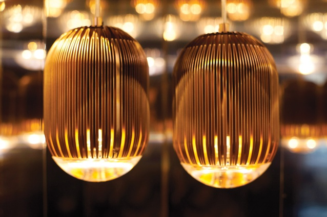 Fin light by Tom Dixon.