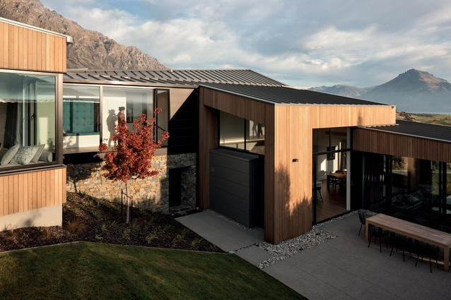 Jack's Point House, Queenstown by Hyndman Taylor Architects.