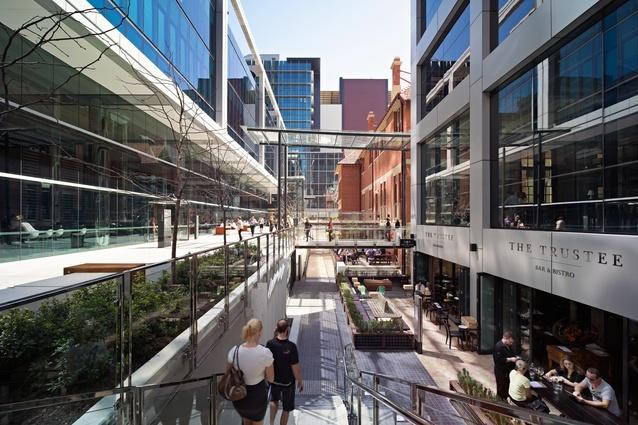 2015 australia award for urban design architectureau for 125 st georges terrace