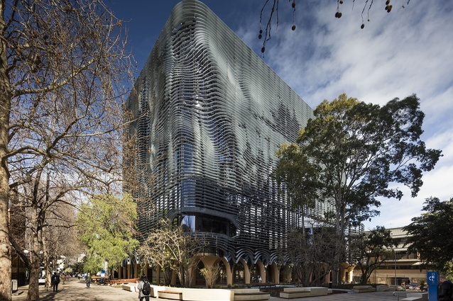 University of Melbourne Arts West Redevelopment by Architectus and ARM Architecture.