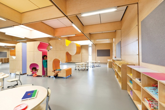 2013 Public and Sustainability awards: John Septimus Roe Anglican Community School (JSRACS) Kindergarten — Beechboro Campus by Brooking Design Architects.