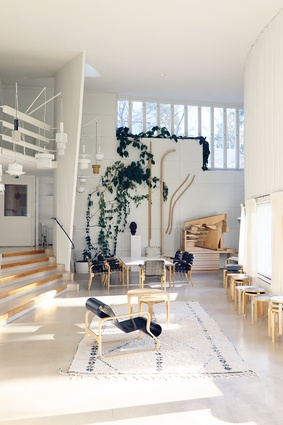 Alvar Aalto is one of the most iconic Finnish designers. The Model No. 41 Lounge Chair was made in 1931.