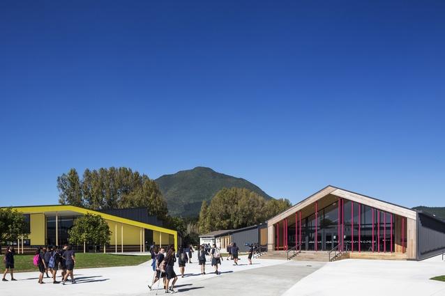 Education winner: Tarawera High School, Kawerau by RTA Studio.