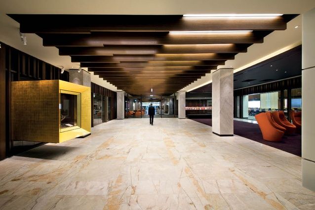 National Library of Australia by Cunningham Martyn Design.