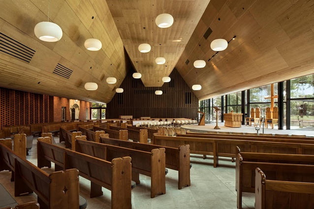 Finalist: Civic – Saint Andrews College Centennial Chapel by Architectus.