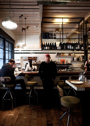 Hospitality Finalist: The Depot Eatery by C Nott Architects Limited.