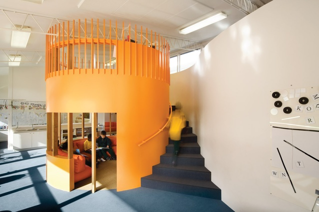 Wooranna Park Primary School, designed by Mary Featherston Design.