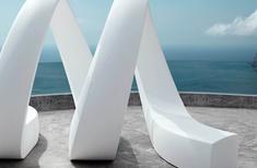 AND sculptural pieces by Vondom
