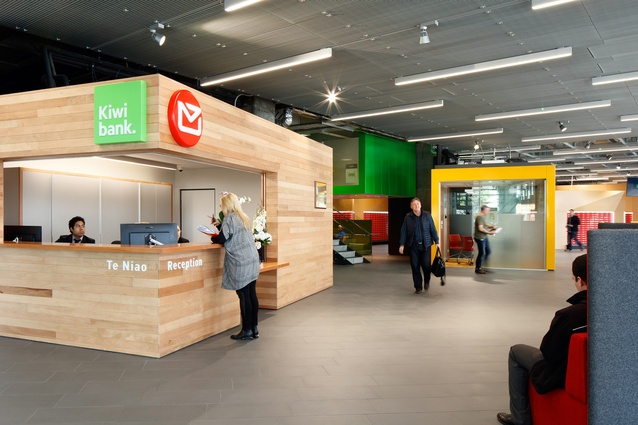 Interior Architecture category finalist: New Zealand Post House, Wellington by Jasmax.
