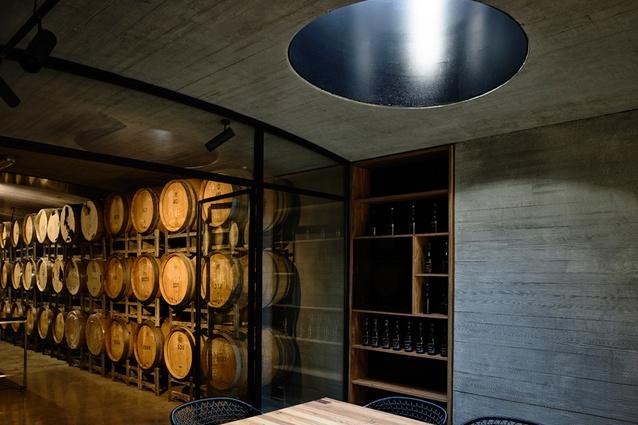 TarraWarra Cellar Door by Kerstin Thompson Architects.