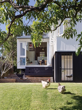 Wilston Garden Room (Qld) by Vokes and Peters (while at Owen and Vokes and Peters)