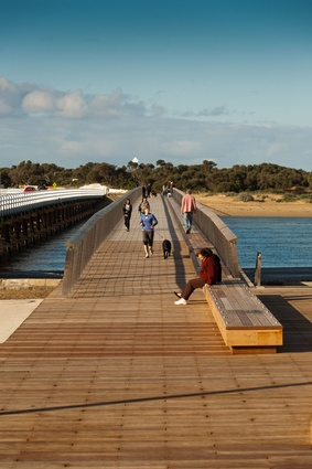 Landscape winner: William Buckley Bridge by Peter Elliott Architecture + Urban Design.