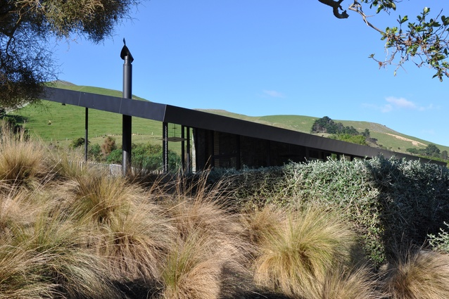 Small Project Architecture category finalist: Olive Grove, Banks Peninsula by Patterson Associates.