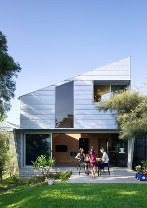 SIPS Residence by Kieron Gait Architects.