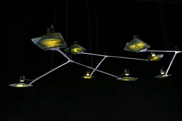 Titanium-Jade Light combines one of New Zealand's oldest and most culturally significant crafts with one of the world's most advanced manufacturing techniques.