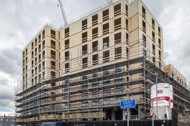 It is anticipated that 67–71 Dalston Lane – also in Hackney, London – will use more structural timber than any other project, which will make it the world's largest CLT building when it is complete later this year.