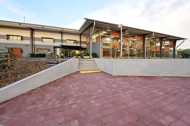 Charles Darwin University Trade Training Centre by MODE.