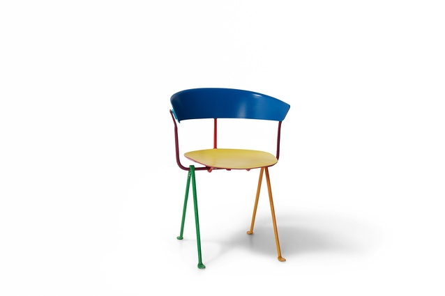 The Officina chair reinvented by Mika Utzon-Popov for Chairity Project 2016.