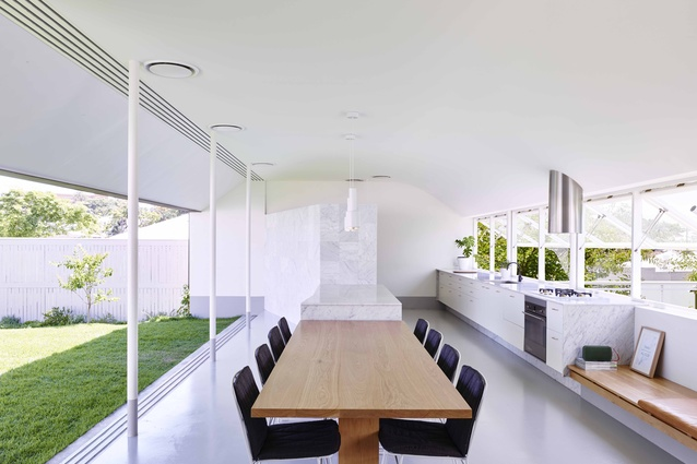 Rosalie House (QLD) by Owen Architecture.