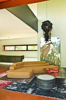 Earthy colours, bold forms and statement pieces.