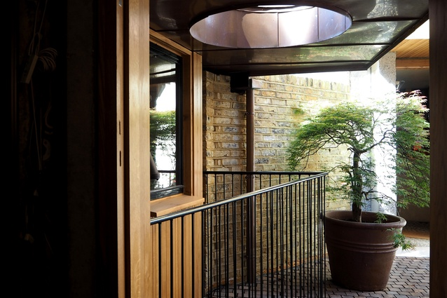 Entry to one of the Walmer Yard townhouses by Peter Salter.