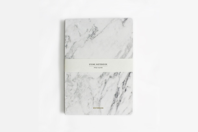 White Marble Notebook by Dear Maison 