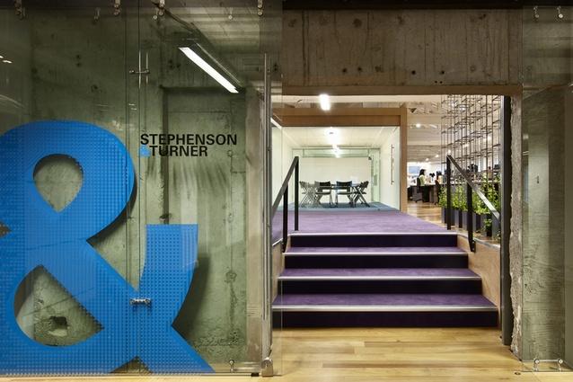 Corporate Finalist: Stephenson & Turner Design Studio by Stephenson & Turner NZ Limited.