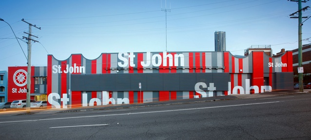 St John Ambulance by Tonic.