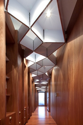 Timber Office. Winner: Emerging Design Professional –Dajiang (DJ) Tai, Cheshire Architects.