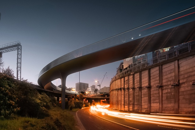 Planning & Urban Design Award: Canada Street Bridge by Monk MacKenzie and Novare Design, in association.