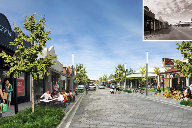 King William Road Masterplan by Hassell and City of Unley.