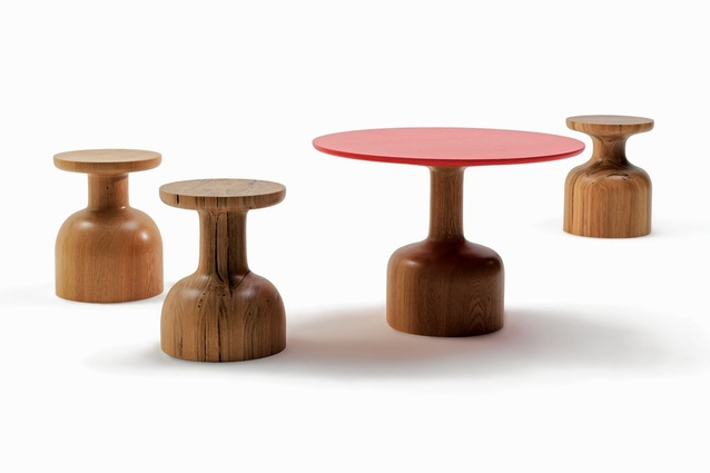 Bandy tables by Jardan.