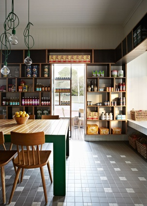 Corner Store Cafe by Richards & Spence.