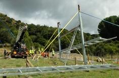 Volunteers help keep project on track