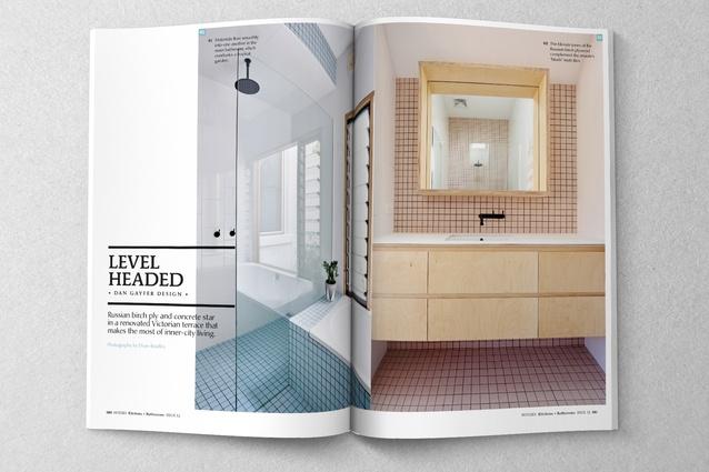 Bathrooms by Dan Gayfer Design.