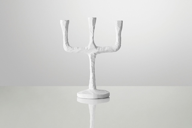 Raw candelabra from Muuto.