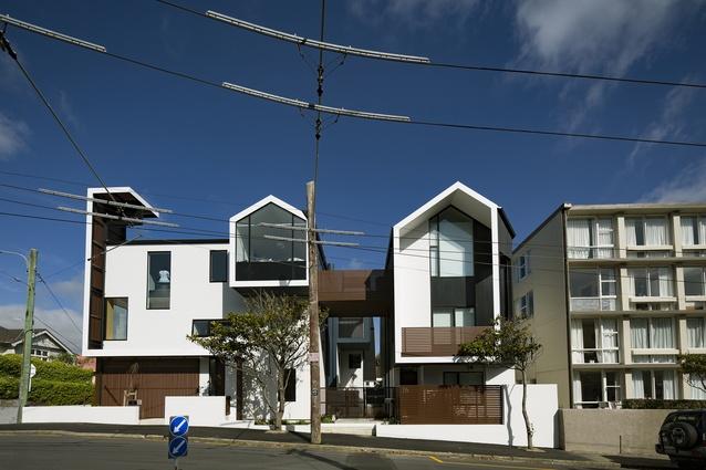 Housing – Multi-Unit category finalist: Zavos Corner, Mt Victoria, Wellington by Parsonson Architects.