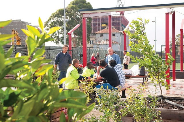 Dandenong pop-up park by Aspect Studios.