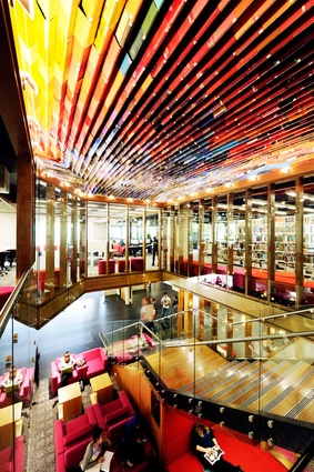 QUT Library Upgrade Kelvin Grove by Peddle Thorp and James Cubitt Architects.