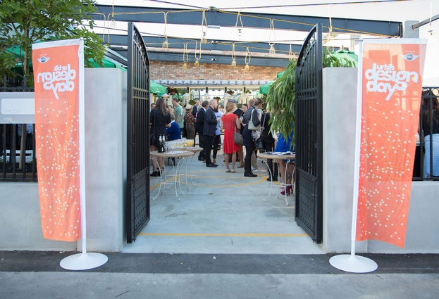The launch event for Urbis Designday 2013, at Citizen Park in Kingsland, Auckland.