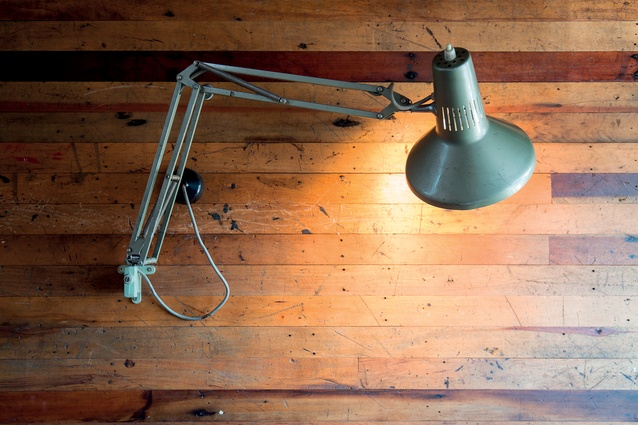 Lamps were brought back from earlier times and used in a totally different setting.