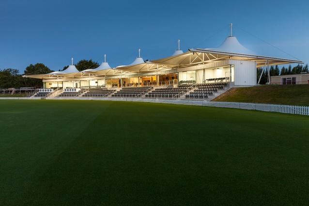 Public Architecture Award: Hagley Oval Pavilion by Athfield Architects.
